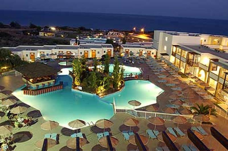 Hotel Miraluna Kiotari Resort - Kiotari - Rhodos